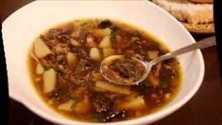 видео суп из сушеных грибов