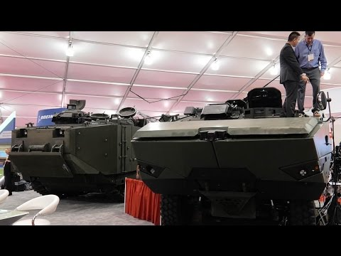 SAIC Presents ACV 1.1 and AAV SU at Modern Day Marine