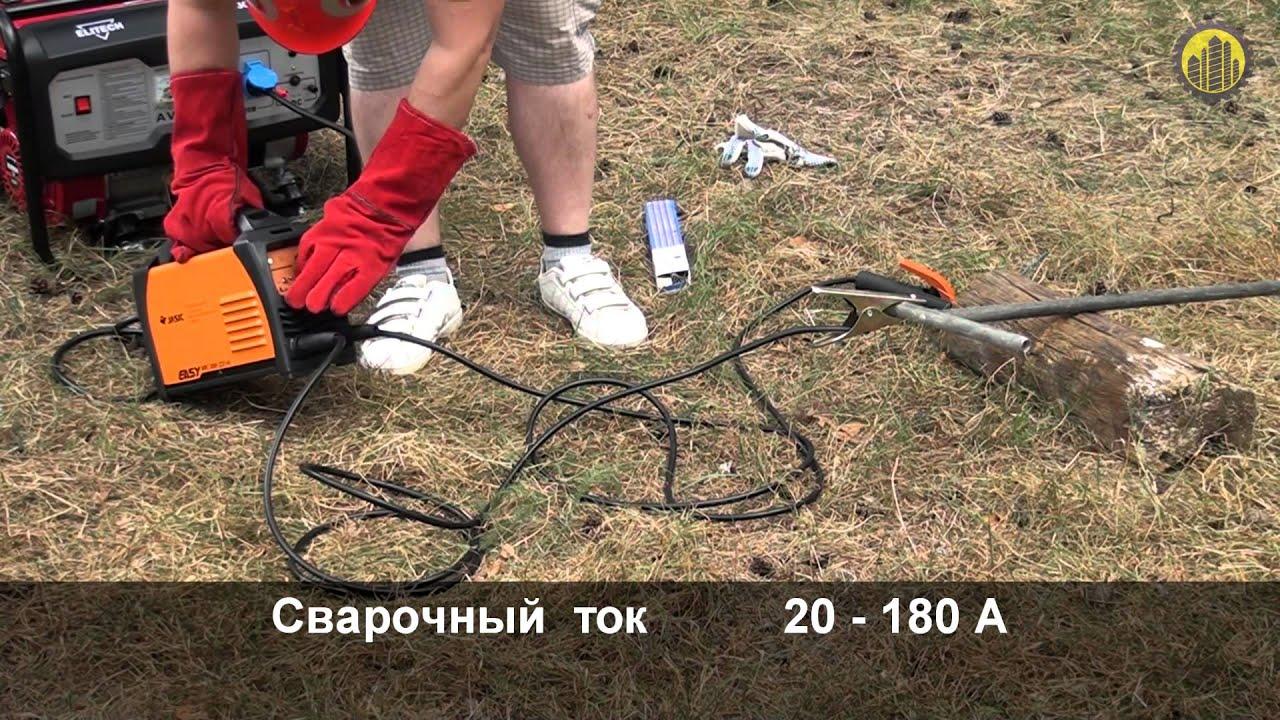 Тест сварочного инверторного аппарата Сварог ARC 205 B Z203, на .