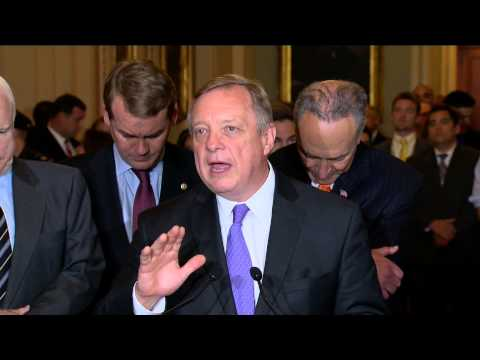 Durbin Speaks on the Passage of Historic Immigration Reform Bill