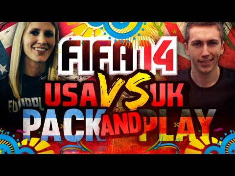 WORLD CUP FINAL' | FIFA 14 | UK VS USA PACK AND PLAY