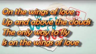 On the Wings of Love - Jadine karaoke with lyrics