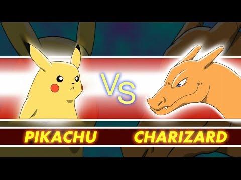 Pokémon Revenge - Pikachu vs Charizard - Pokémon Animation Parody  - GAME SHENANIGANS