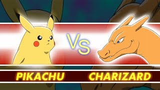Pokémon Revenge - Pikachu vs Charizard - Pokémon Animation Parody  - Game Shenanigans
