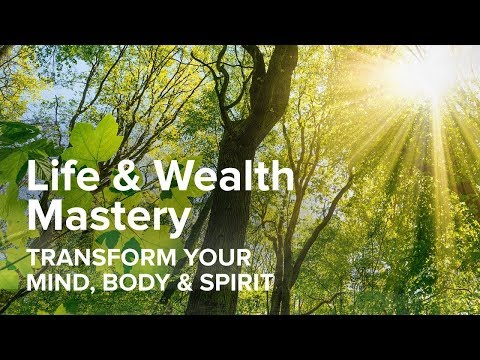 Tony Robbins Life & Wealth Mastery: Transform your mind, body and spirit