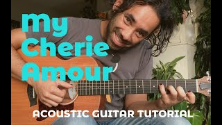 My Cherie Amour - Acoustic Guitar Tutorial