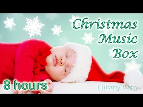 ✰ 8 HOURS ✰ Christmas MUSIC BOX ♫ Christmas Music Instrumental ✰ Christmas Carols ✰ Snowflakes