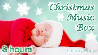 ✰ 8 HOURS ✰ Christmas MUSIC BOX ✰ Christmas Music Instrumental ✰ Christmas Carols ✰