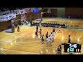 明成vs福岡第一(4Q)高校バスケ 2015 KAZU CUP