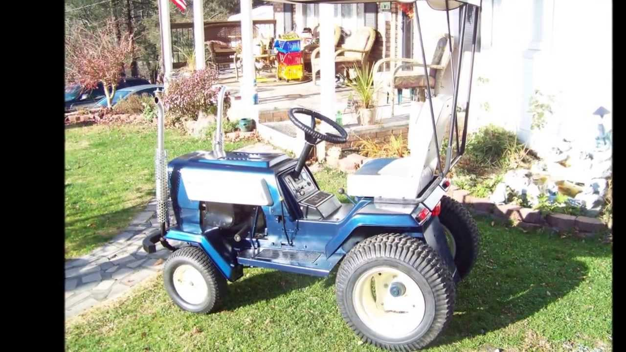 Tractor Seat Boat : Super modified sears lawn tractor youtube