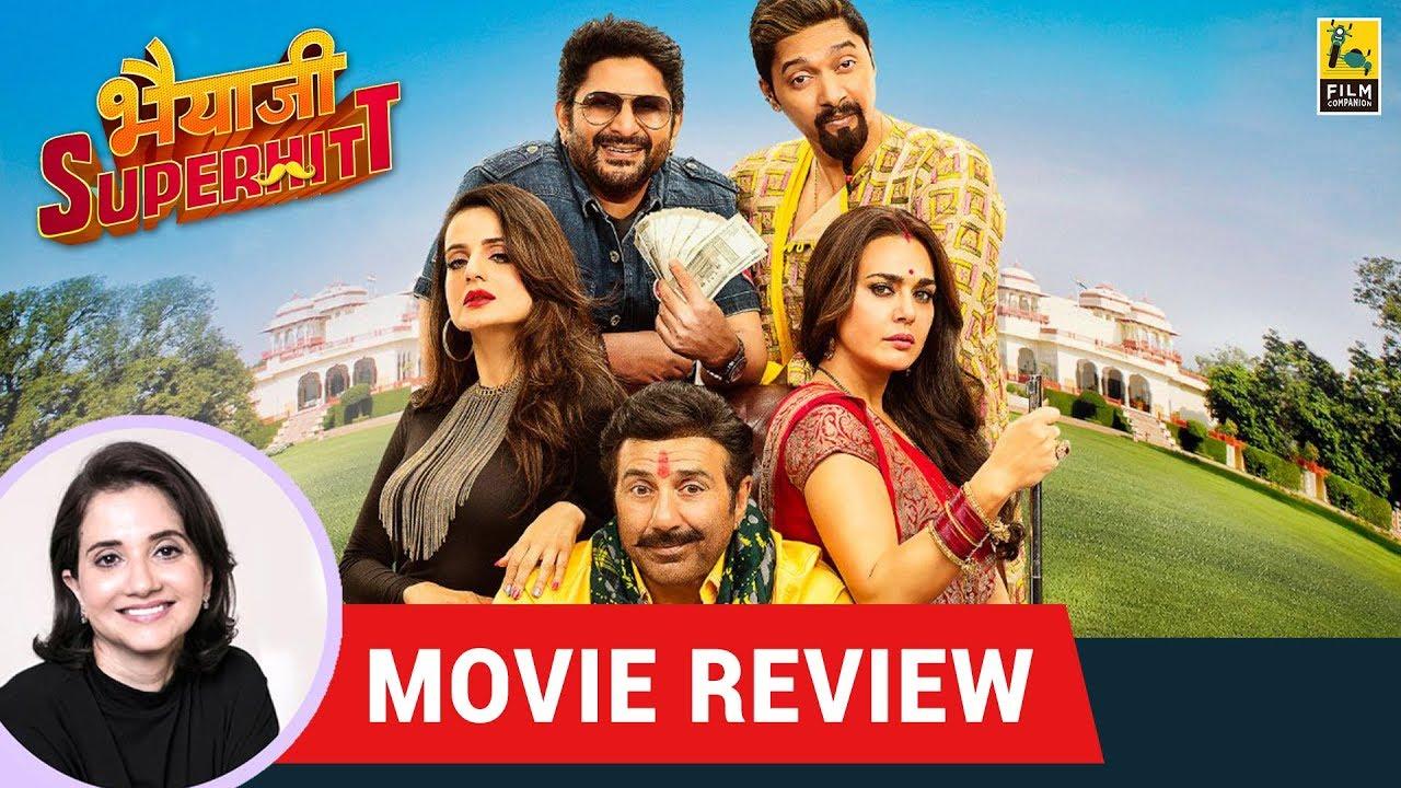 Anupama Chopra's Movie Review Of Bhaiaji Superhit