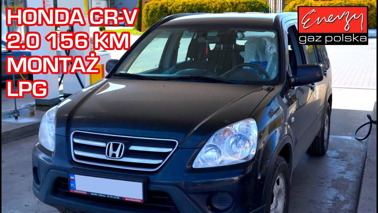 Montaż LPG Honda CR-V z 2.0 2006r w Energy Gaz Polska na gaz BRC Sequent 32