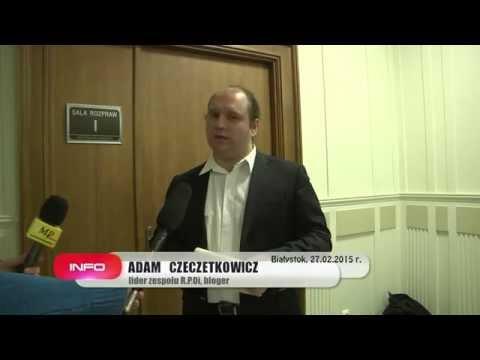 Oświadczenie Adama Czeczetkowicza po rozprawie (27.02.15)