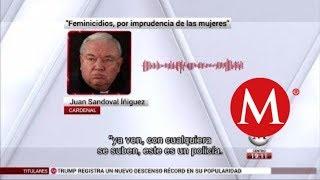 Las mujeres son imprudentes: cardenal Iñiguez