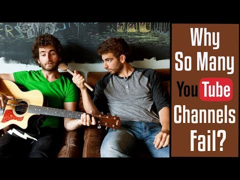Why So Many Youtube Channels Fail