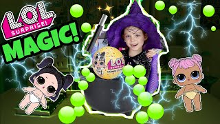 LOL SURPRISE MAGIC TRICK!! How to Make LIL DAWN & LIL DUSK with MAGIC POTION! SERIES 3 Wave 2 DOLLS!
