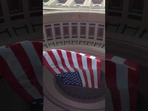American Flag - Boston Massachusetts 4th of July !