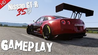 Assetto Corsa (Nissan GT-R) GReddy 35RX (HD) PC Gameplay