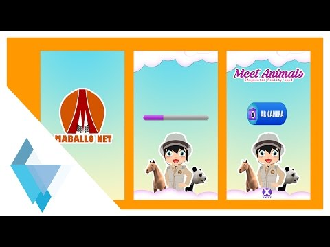Komplit Tutorial Augmented Reality - Splash Screen, Loading Scene, Main Menu Scene