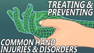 Common Hand Injuries/Disorders and how to Treat/Prevent them