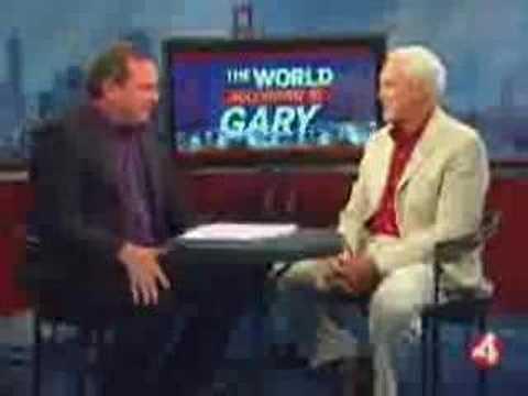 Bill Walsh with KRON 4's Gary Radnich