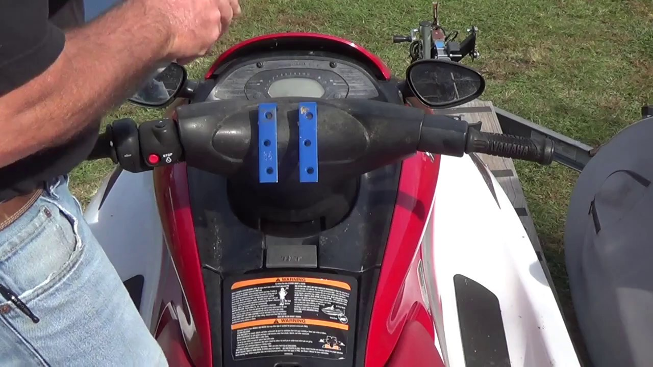 Mounting A Gps On The Jetski Part 1 Youtube