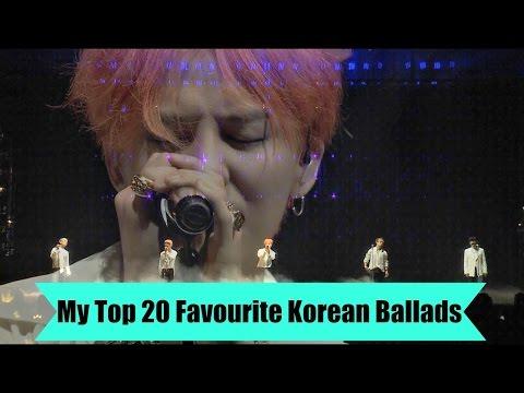 My Top 20 Favourite Korean Ballads (Live Version)
