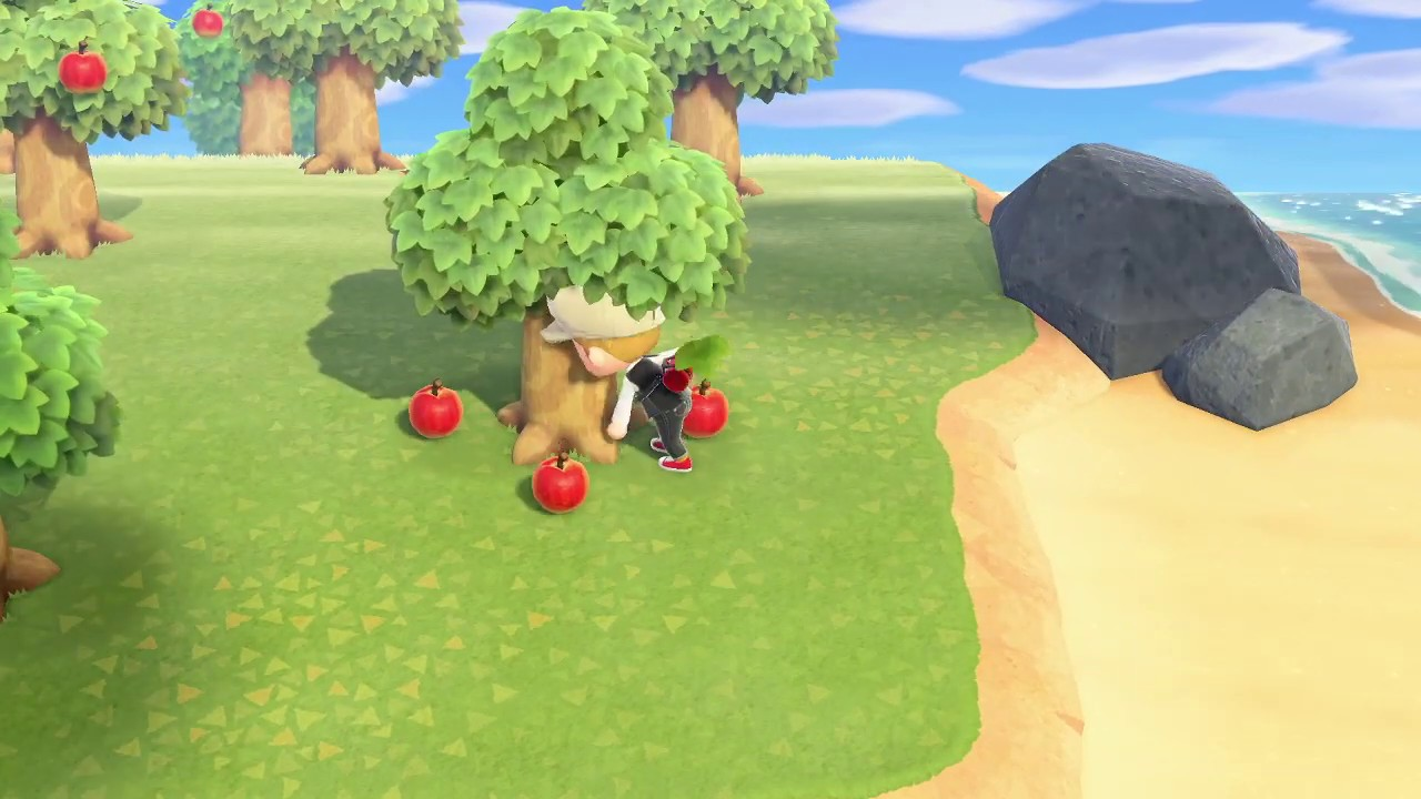 How To Plant Fruit Trees In Animal Crossing New Horizons Youtube