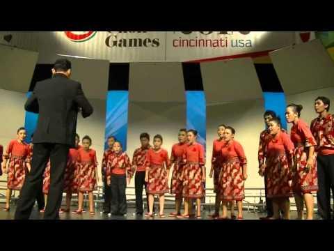Penampilan di Kategori 2   Children Choir   Toki Tifa dan GUndul Pacul
