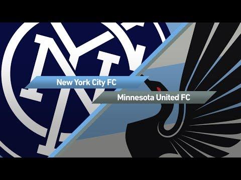 Highlights: New York City FC vs. Minnesota United FC   June 29, 2017