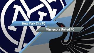 Video Gol Pertandingan New York City FC vs Minnesota United