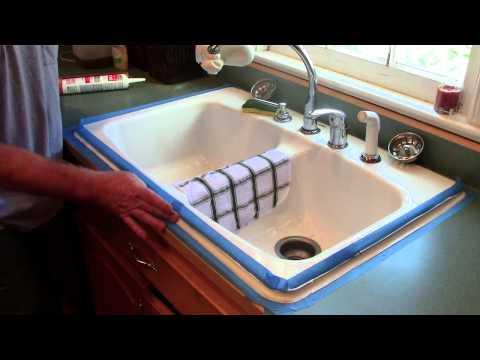 Caulking Around a Kitchen Sink