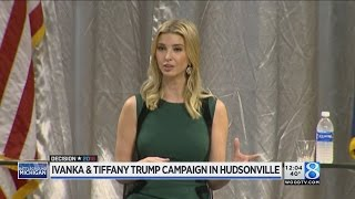 Ivanka and Tiffany Trump hold community Q & A in Hudsonville