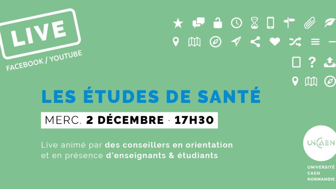 Accès aux études de Santé à l'Université de Caen Normandie