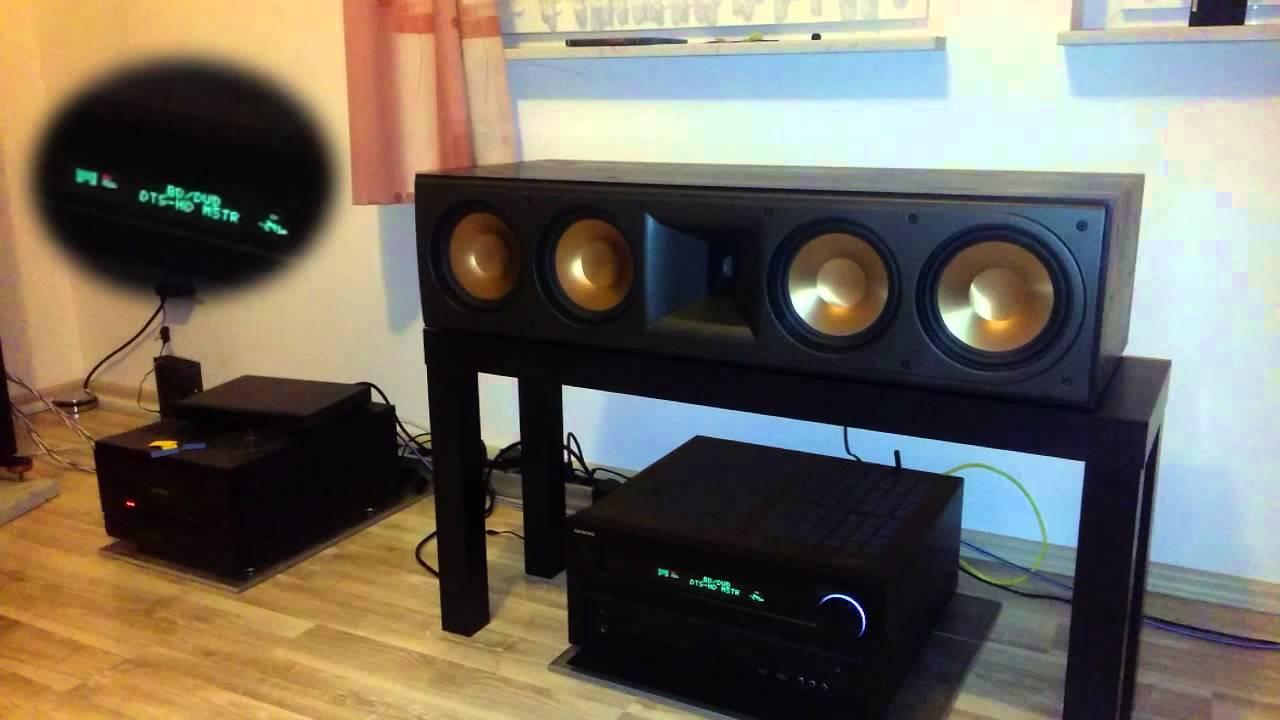 klipsch reference rc 64 test robocop 4k youtube. Black Bedroom Furniture Sets. Home Design Ideas