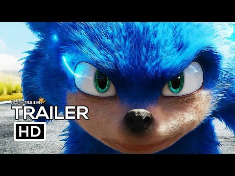 SONIC THE HEDGEHOG Official Trailer (2019) Jim Carrey, Live Action Movie HD