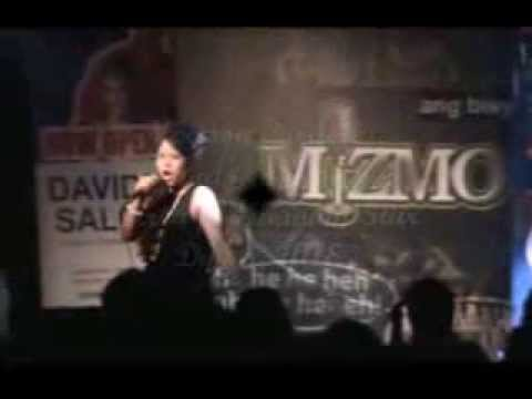 Melissa Cordero version of New York New York by Liza Minelli