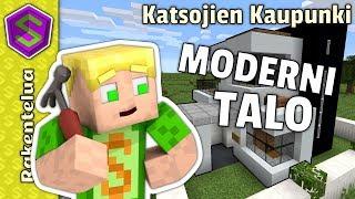 Moderni talo!   Minecraft Katsojien Kaupunki #8
