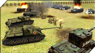 ЭТИ ТАНКИ ПРОСТО БЕЗУМНЫ - СИМУЛЯТОР Второй Мировой Войны на Андроид. Игра WW2 Battle Simulator # 10