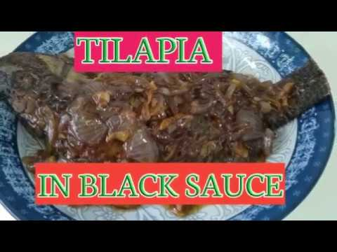 FRIED TILAPIA IN BLACK SAUCE || IN CHINESE STYLE ||