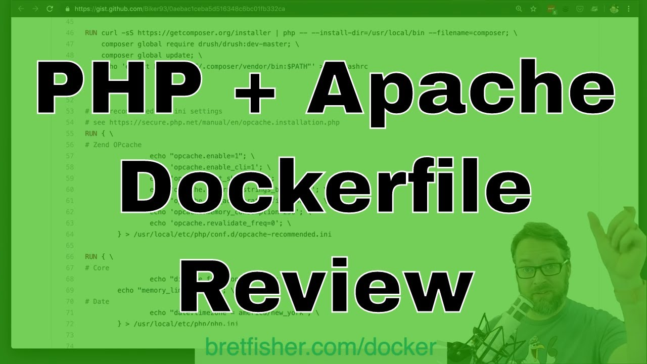 Real world PHP, Apache, and Alpine Dockerfile Review