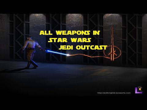 All Weapons In Star Wars: Jedi Outcast