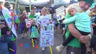 Mardigrass Smokes a Huge Joint EVER!! Cannabis Protest