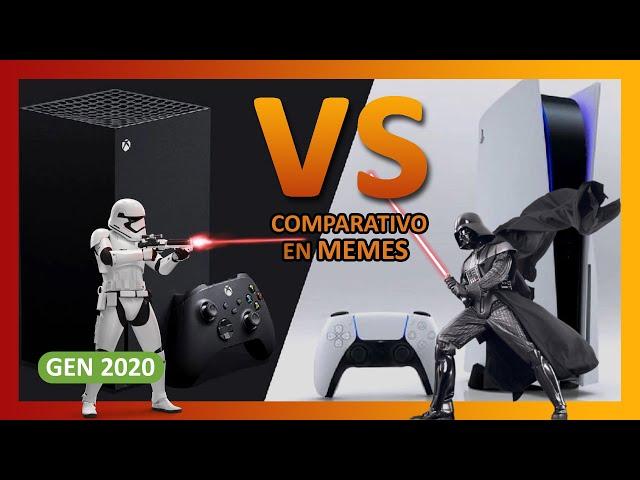 PS5 vs XBOX Series X 🎮 (en memes 😂)