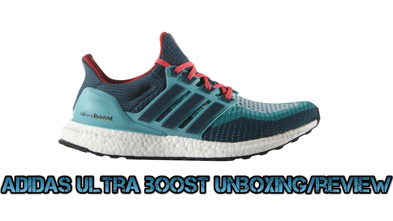 25a5de30e Adidas ultra boost blue green gradient colour way (unboxing review) -  YouTube