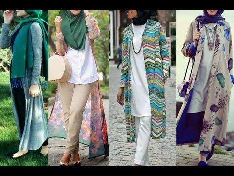 bd0e68556 Casual Hijab Fashion - Cardigan Outfits Style ازياء كاجوال للمحجبات ...