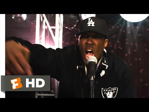 Straight Outta Compton (4/10) Movie CLIP - N.W.A. Plays Dopeman (2015) HD