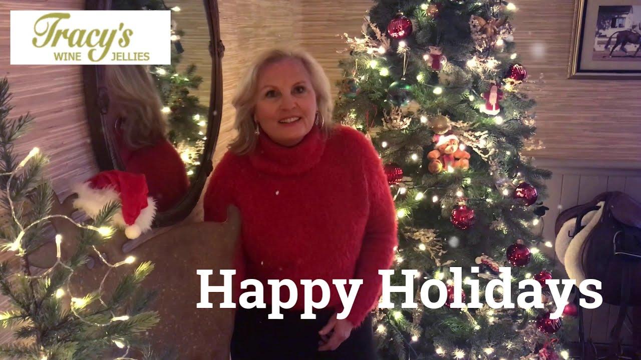 Happy Holidays from Tracy's Wine Jellies