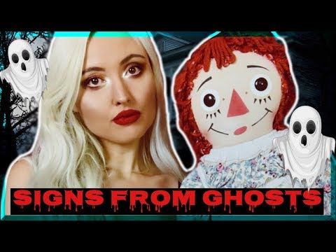 10 Scary Signs YOU are being HAUNTED by a GHOST..