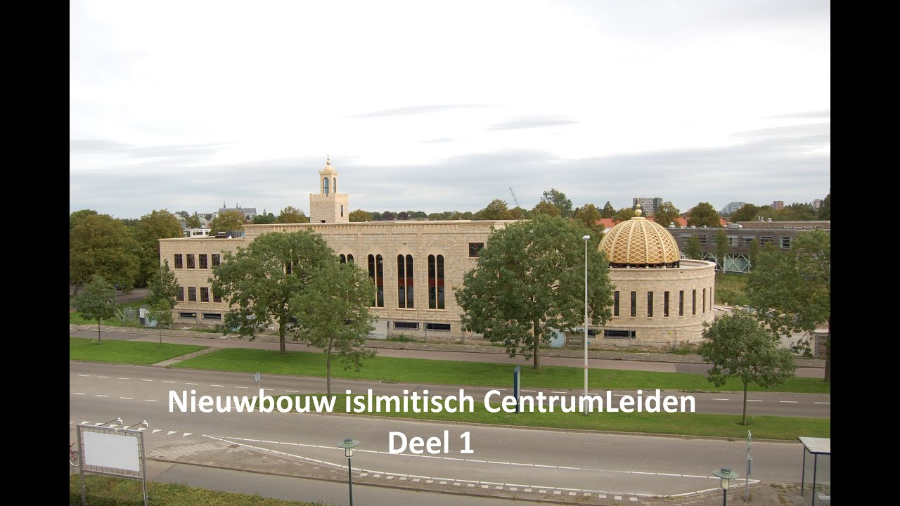 Nieuwbouw Islamitisch Centrum Leiden deel 1